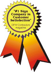 #1 SIGN COMPANY IN CUSTOMER SATISFACTION